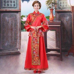 wedding dress, kimono, Asian wedding dress