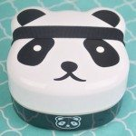 Panda Bear 2-Tiered Bento Box