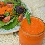 Creamy Carrot & Ginger Salad Dressing