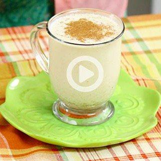 Low Calorie XMAS Egg Nog with Soy & Coconut Milks!