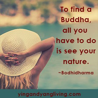Zen Message Straw Hat Woman — BodhiDharma