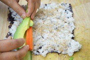 Avocado-in-Sushi
