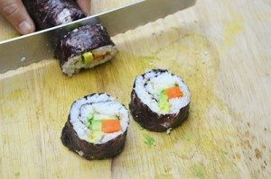 Slicing-Sushi