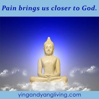 Zen Message: Pain Closer to God