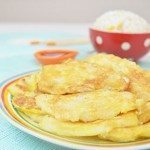Pan Fried Cod Fish in Egg Batter