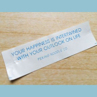 A Little Reminder from a Fortune Cookie…