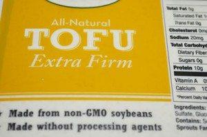 Tofu-Ingredient