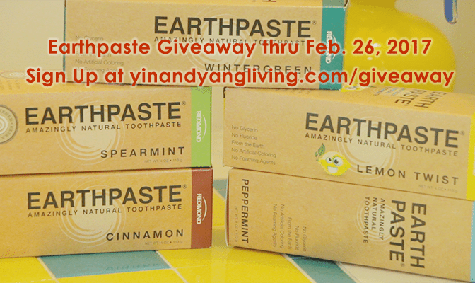 Natural Earthpaste FREE Giveway!