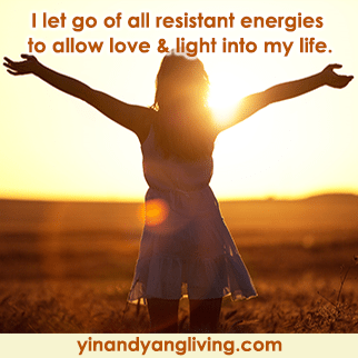 Zen Message: Love & Light into My Life