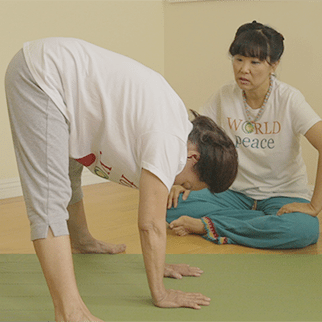 My 86-Year-Old Mother's Favorite Yoga Positions
