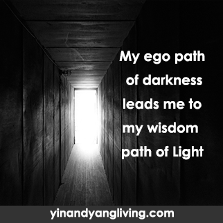 Zen Message: Darkness Path to Light