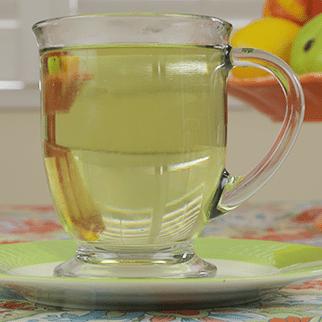Detox Tea with Parsley, Cilantro & Cardamom