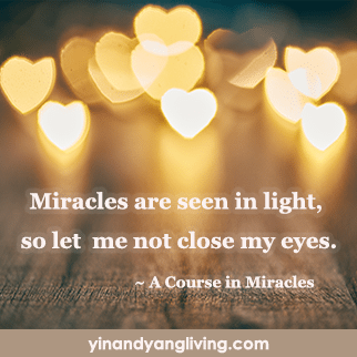 Zen Message: Miracles are Seen in Light