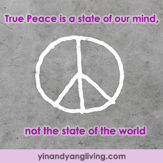Zen Message: True Peace is State of Mind