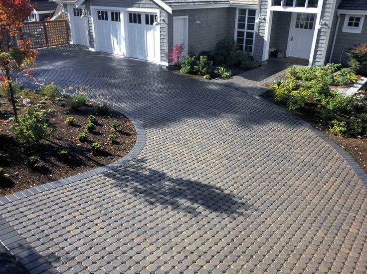 interlocking pavers for home driveways amp walkways - 736×549