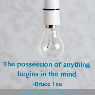 Zen Message Light Bulb Bruce Lee
