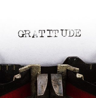Being Grateful: Our First Step Towards Happiness