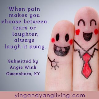 Zen Message on Laughter by Angie Wink