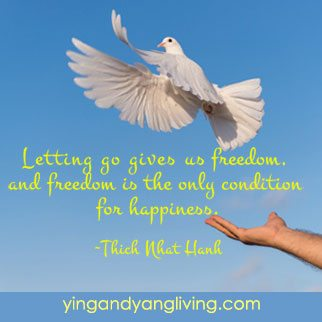Zen Message of the Week: Letting Go of Dove Thich Nhat Hahn