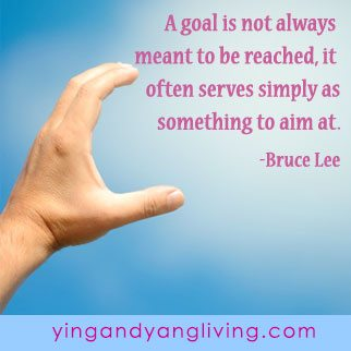 Zen Message: Goal by Bruce Lee