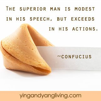 Zen Message Fortune Cookie Confucius