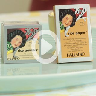 Rice Paper to Determine your Skin Type