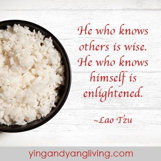 Rice Bowl  Lao Tzu