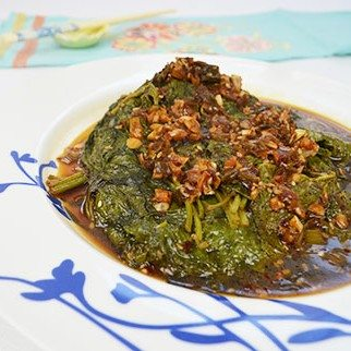 Sesame Leaves in Sesame Oil & Sesame Seed Marinade
