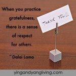 Zen Message Grateful Card Dalai Lama