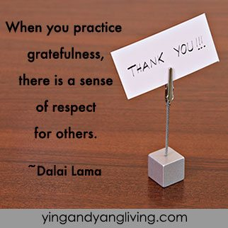 Zen Message Grateful Card Dalai Lama