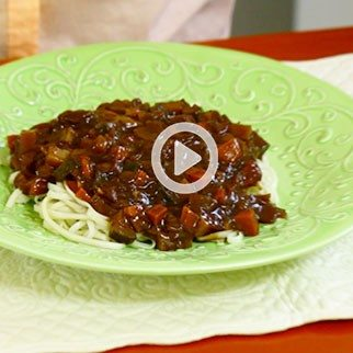 "Korean Black Bean ""ChaChang Myun"" Noodles"
