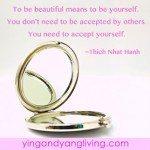 Zen Message Beautiful & Mirror Thich Nhat Hanh