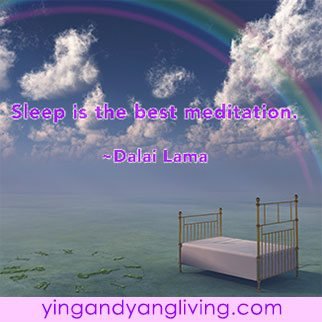 Zen Message: Rainbow Bed Sleep Meditation — Dalai Lama