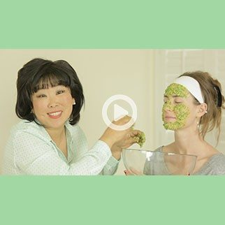Cilantro & Sticky White Rice Face Mask
