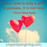 Zen Message Heart Balloons Love Thich Nhat Hanh