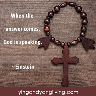 Zen Message Brown Cross – Einstein