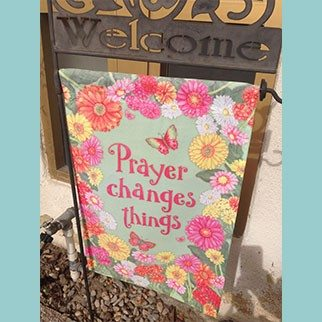 The Prayer Sign….