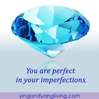 Zen Message: Blue Diamond – Perfect in Imperfections