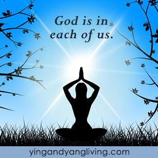 Zen Message: God is in Each of Us