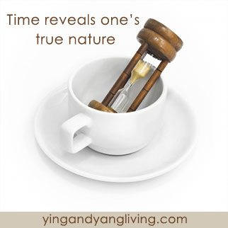 Zen Message: Time Reveals One's Nature