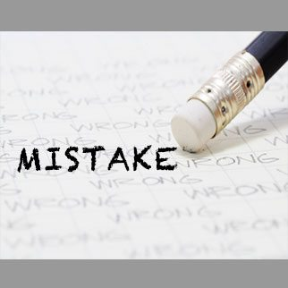 When a Mistake is not a Mistake