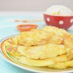 Pan Fried Cod Fish in Egg Batter