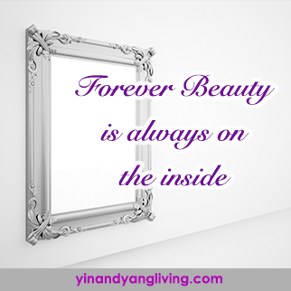 Zen Message: Forever Beauty is on the Inside