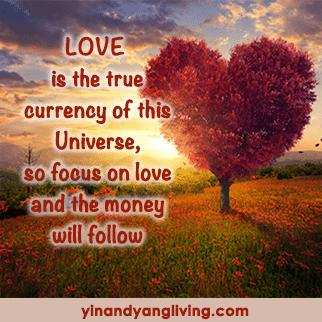 Zen Message: Love Currency