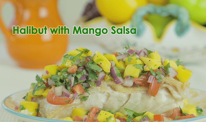 Halibut with Mango Salsa