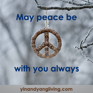 Zen Message: May Peace Be With You