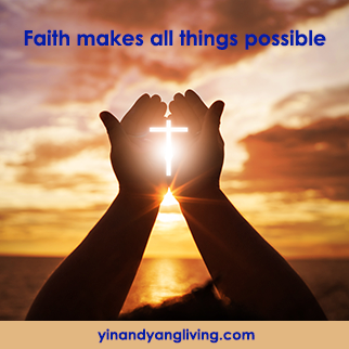 Om Message – Faith makes all things possible