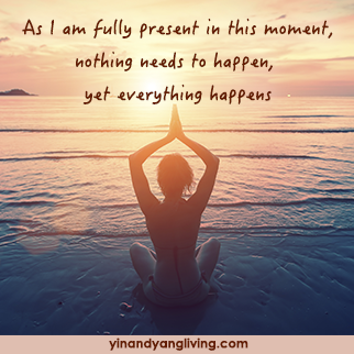 OM Message: Nothing Needs to Happen