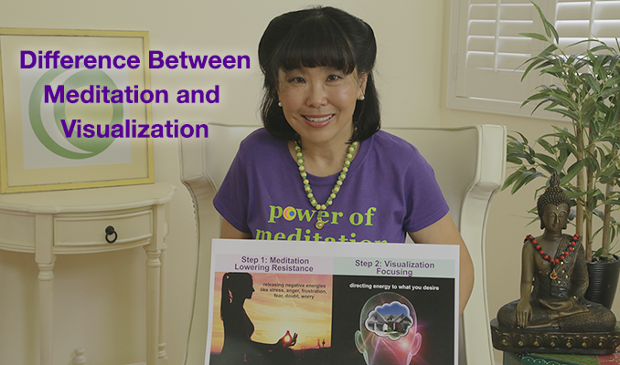 Difference Between Meditation & Visualization