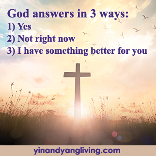 OM Message: God Answers in 3 Ways